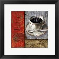 Morning Blend - mini Framed Print