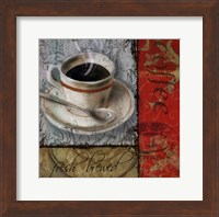Framed Fresh Brewed - mini