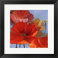 Movement in Bloom II - mini Framed Print