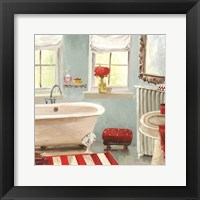 Framed Tranquil Bath II - mini