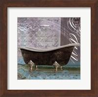 Framed Medallion Bath II - mini
