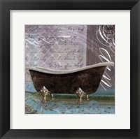 Medallion Bath II - mini Framed Print