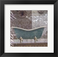 Framed Medallion Bath I - mini