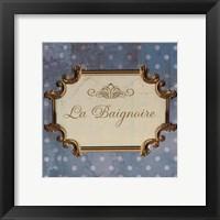 Bain Sign III - mini Framed Print
