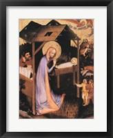 Framed Adoration of Jesus
