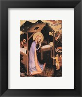 Framed Adoration of Jesus