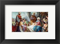 Framed Adoration of the Shepherds and the Magi
