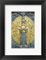Framed Jiuhuashan Bodhisattva