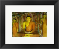 Buddha Statue Ibbagala Viharaya Framed Print