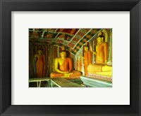 Framed Buddha Statues Ibbagala Viharay