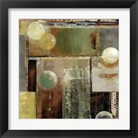 Framed Ice & bubbles II