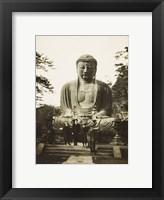 Framed Daibutsu Buddha at Kamakura