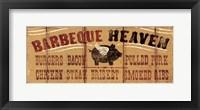Framed Barbeque Heaven