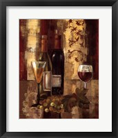 Framed Graffiti and Wine III