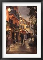 Framed Evening in Paris
