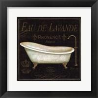 Framed Bain de Luxe I