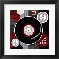 Rock n' Roll Albumn Framed Print