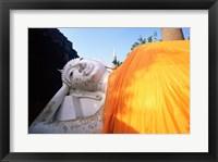 Framed Reclining Buddha, Wat Yai Chai Mongkhon, Ayutthaya, Thailand