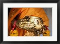 Framed Buddha Hands, Phra Pathom Chedi, Nakhon Pathom, Thailand