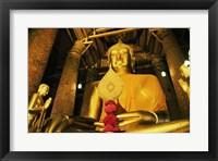 Framed Statue of Buddha, Wat Phanan Choeng, Ayutthaya, Thailand
