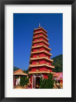 Framed Ten Thousand Buddhas Monastery