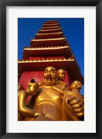 Framed Laughing Buddha