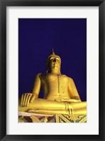 Framed Statue of Buddha, Wat Phra Yai, Ko Samui, Thailand