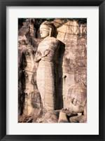 Standing Buddha Closeup Framed Print