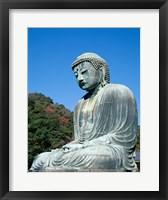 Daibutsu Great Buddha, Kamakura, Honshu, Japan Side View Framed Print