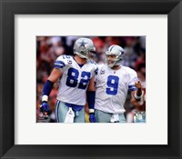 Framed Jason Witten & Tony Romo 2011 Action