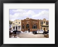 Framed Police Station