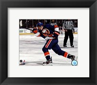 Framed Kyle Okposo 2011-12 Action
