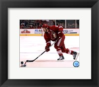 Framed Shane Doan 2011-12 Action