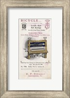 Framed Bicycle Clothes Wringer
