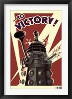 Framed Doctor Who - Dalek to Victory
