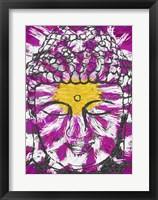 Framed Lotus Buddha
