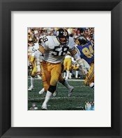 Framed Jack Lambert 1977 Action