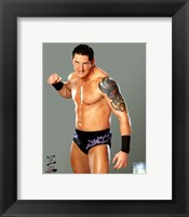 Framed Wade Barrett 2011 Posed