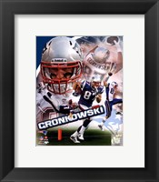 Framed Rob Gronkowski 2011 Portrait Plus