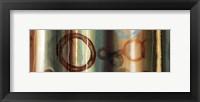 Framed Ombre Circles II - mini