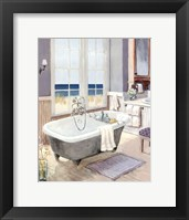 Framed Coastal Bath II - mini