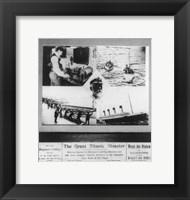 Framed Great Titanic Disaster