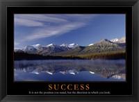 Framed Success - mountains