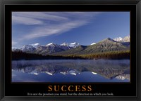 Framed Success - mountains