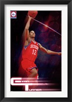 Framed 76ers - E Turner 10