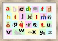 Framed Animal Alphabet