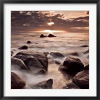 Framed Midnight Sunrise