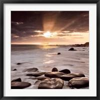 Framed Nordic Sunset