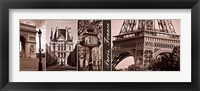 Framed Glimpse of Paris