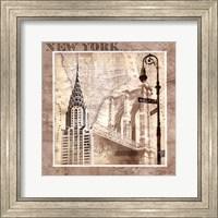 Framed New York Serenade